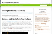 stock market websites