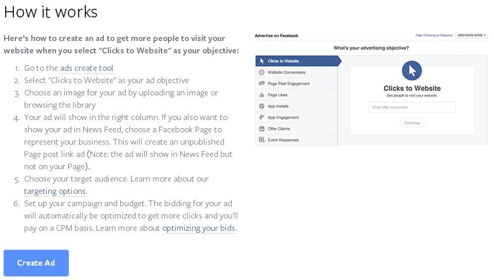 facebook advertising case