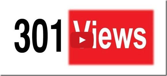 301 views stuck at youtube