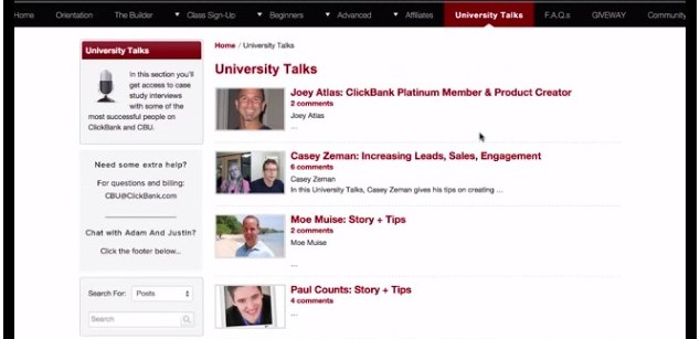 the review of clickbank university