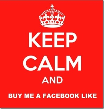 keep calm and buy me a like from facebook