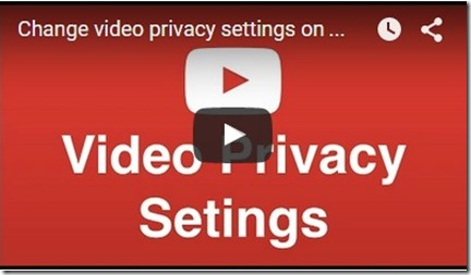 unlisted vs private and public videos for youttube