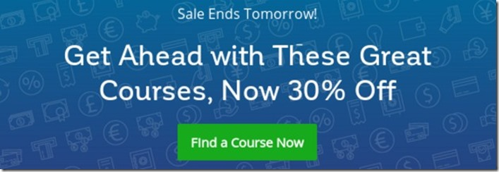 online courses deal